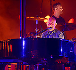 HOLLYWOOD, FL - JULY 22:  Ben Wysocki and Isaac Slade of The Fray performs at Hard Rock Live! in the Seminole Hard Rock Hotel & Casino on July 22, 2014 in Hollywood, Florida. (Photo by Johnny Louis/jlnphotography.com)