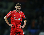 Steven Gerrard of Liverpool - FA Cup Fourth Round replay - Bolton Wanderers vs Liverpool - Macron Stadium  - Bolton - England - 4th February 2015 - Picture Simon Bellis/Sportimage