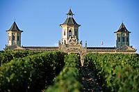 Europe/France/Aquitaine/33/Gironde/Saint-Estèphe: château Cos d'Estournel (AOC Saint-Estèphe)