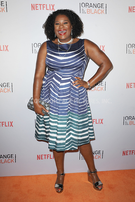 WWW.ACEPIXS.COM<br /> June 11, 2015 New York City<br /> <br /> Adrienne Moore attending the 'Orangecon' Fan Event at Skylight Clarkson SQ on June 11, 2015 in New York City.<br /> <br /> Credit : Kristin Callahan/ACE Pictures<br /> Tel: (646) 769 0430<br /> e-mail: info@acepixs.com<br /> web: http://www.acepixs.com