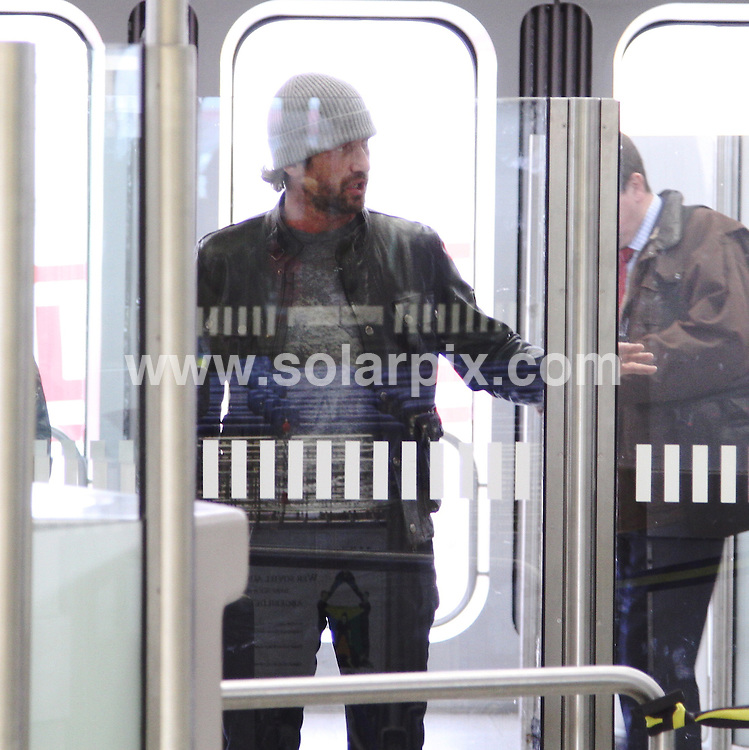 **ALL ROUND PICTURES FROM SOLARPIX.COM**                                             **UK AND SPAIN SYNDICATION RIGHTS ONLY**                                                                                  Gerard Butler arrives at Hotel Regent in Berlin today.                                                                          This pic:     Gerard Butler                                                                                         JOB REF:    12797    CPR/AM/MK     DATE:  14.02.11                                                          **MUST CREDIT SOLARPIX.COM OR DOUBLE FEE WILL BE CHARGED**                                                                      **MUST AGREE FEE BEFORE ONLINE USAGE**                               **CALL US ON: +34 952 811 768 or LOW RATE FROM UK 0844 617 7637**