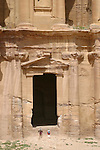 The Deir, built on the top of a mountain is one of the most fascinating monument of  Petra. Jordan