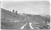 Scenery and dirt roads during the early 1940s in RGS country.<br /> RGS  Rico area ?, CO  Taken by Engel, Freda - 1940-1943