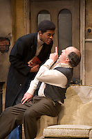 Rising Damp-straight through dress rehearsal with no opportunity to stage images.