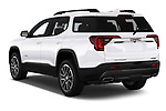Car pictures of rear three quarter view of a 2020 GMC Acadia AT4 5 Door SUV angular rear
