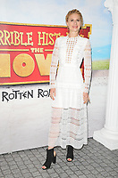 "Jessica Swale at the ""Horrible Histories: The Movie - Rotten Romans"" world film premiere, Odeon Luxe Leicester Square, Leicester Square, London, England, UK, on Sunday 07th July 2019.<br /> CAP/CAN<br /> ©CAN/Capital Pictures"
