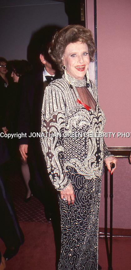 Ruth Warrick 1994 by Jonathan Green