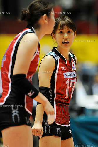File Photo of Akiko Ino (JPN), OCTOBER 29, 2010 - Volleyball : 2010 FIVB Women's Volleyball World Championship First Round Pool A match between Poland 2-3 Japan at Yoyogi 1st Gymnasium in Tokyo, Japan. (Photo by AZUL/AFLO).