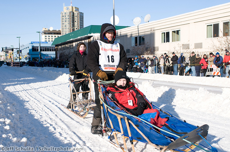 2009 Anchorage ceremonial start Iditarod