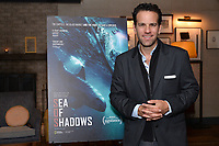"""NEW YORK - OCTOBER 30: Carlos Loret de Mola attends the reception after the screening of National Geographic Documentary Films """"Sea of Shadows"""" and """"Lost and Found"""" on October 30, 2019 in New York City. (Photo by Anthony Behar/National Geographic/PictureGroup)"""