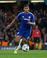 Ruben Loftus-Cheek of Chelsea in action during the UEFA Champions League match between Chelsea and Maccabi Tel Aviv at Stamford Bridge, London, England on 16 September 2015. Photo by Andy Rowland.