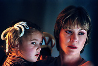 E.T. the Extra-Terrestrial (1982)  <br /> Drew Barrymore &amp; Dee Wallace<br /> *Filmstill - Editorial Use Only*<br /> CAP/KFS<br /> Image supplied by Capital Pictures
