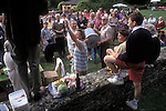 COUNTRY LIFE VILLAGE FETE 1990S UK EASTLEACH TURVILLE.