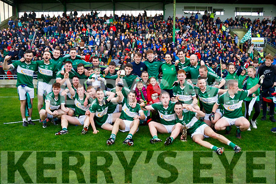 The Listry seniors who won the Castleisland Mart Junior championship against Castlegregory in Austin Stack Park, Tralee on Sunday last.