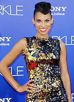 Goapele, Red carpet at The Premiere of Sparkle at Graumans Chinese Theatre in Hollywood California.. /NOrtePHOTO.COM<br />