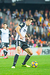 Gabriel Armando De Abreu of Valencia CF runs with the ball during the La Liga 2017-18 match between Valencia CF and FC Barcelona at Estadio de Mestalla on November 26 2017 in Valencia, Spain. Photo by Maria Jose Segovia Carmona / Power Sport Images