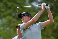 Cydney Clanton (USA) watches her tee shot on 12 during round 1 of  the Volunteers of America LPGA Texas Classic, at the Old American Golf Club in The Colony, Texas, USA. 5/4/2018.<br /> Picture: Golffile | Ken Murray<br /> <br /> <br /> All photo usage must carry mandatory copyright credit (&copy; Golffile | Ken Murray)