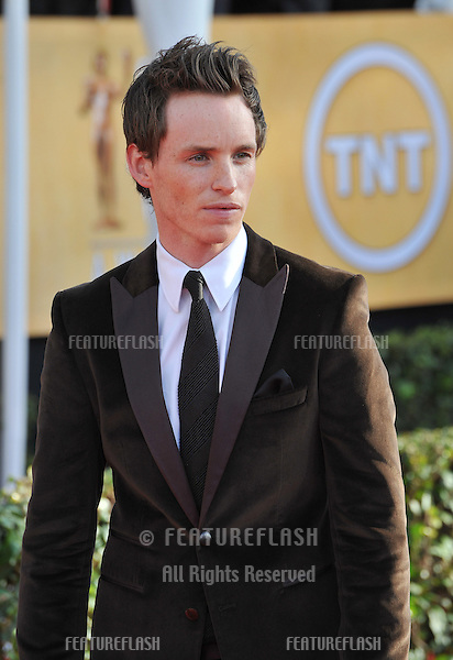 Eddie Redmayne at the 19th Annual Screen Actors Guild Awards at the Shrine Auditorium, Los Angeles..January 27, 2013  Los Angeles, CA.Picture: Paul Smith / Featureflash