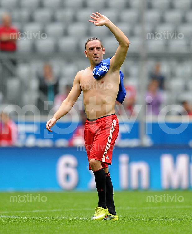 1. Fussball Bundesliga:  Saison   2010/2011     Saisonauftakt beim FC Bayern Muenchen    08.08.2010 Franck Ribery (FC Bayern Muenchen)