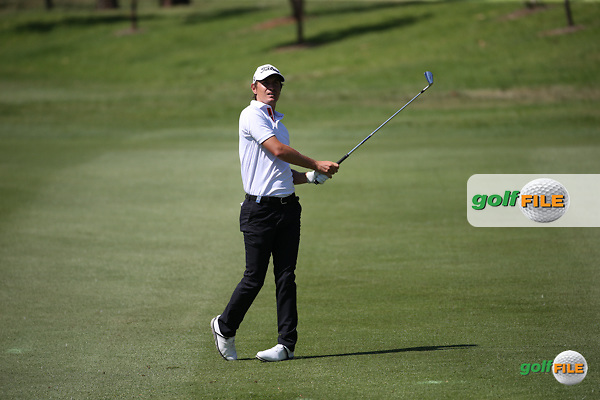 Jason Scrivenor (AUS) during Round One of the 2016 Tshwane Open, played at the Pretoria Country Club, Waterkloof, Pretoria, South Africa.  11/02/2016. Picture: Golffile | David Lloyd<br /> <br /> All photos usage must carry mandatory copyright credit (&copy; Golffile | David Lloyd)