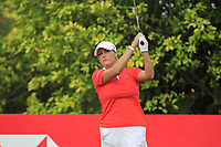 Cristie Kerr (USA) in action on the 3rd during Round 2 of the HSBC Womens Champions 2018 at Sentosa Golf Club on the Friday 2nd March 2018.<br /> Picture:  Thos Caffrey / www.golffile.ie<br /> <br /> All photo usage must carry mandatory copyright credit (&copy; Golffile | Thos Caffrey)
