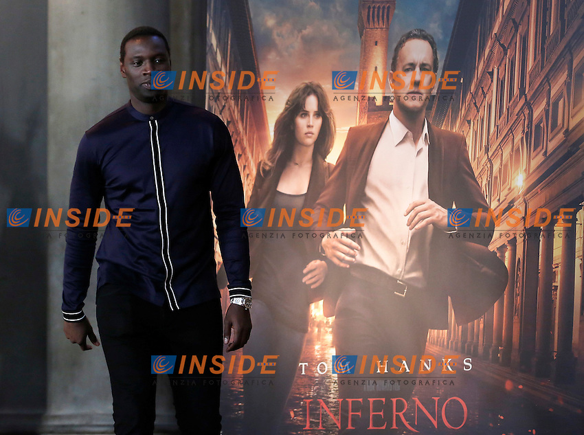 Omar Sy<br /> Firenze 06-10-2016. Photocall del film 'Inferno' in anteprima mondiale.<br /> Rome 6th October 2016. 'Inferno' Photocall<br /> Foto Samantha Zucchi Insidefoto