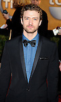 LOS ANGELES, CA. - January 23: Justin Timberlake arrives at the 16th Annual Screen Actors Guild Awards held at The Shrine Auditorium on January 23, 2010 in Los Angeles, California.