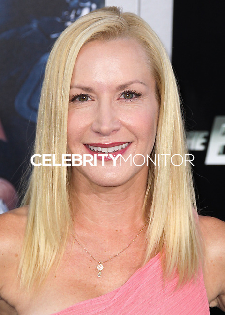HOLLYWOOD, LOS ANGELES, CA, USA - AUGUST 11: Angela Kinsey at the Los Angeles Premiere Of Lionsgate Films' 'The Expendables 3' held at the TCL Chinese Theatre on August 11, 2014 in Hollywood, Los Angeles, California, United States. (Photo by Xavier Collin/Celebrity Monitor)
