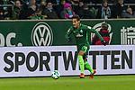 11.02.2018, Weserstadion, Bremen, GER, 1.FBL, SV Werder Bremen vs VfL Wolfsburg<br /> <br /> im Bild<br /> Theodor Gebre Selassie (Werder Bremen #23),  <br /> <br /> Foto &copy; nordphoto / Ewert