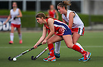 St Margarets College v Bethlehem College. Federation Cup & Marie Fry Trophy,  North Harbour Hockey Stadium, Albany, Auckland, New Zealand.Tuesday 30 August 2016. Photo: Simon Watts / www.bwmedia.co.nz