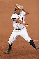 SAN ANTONIO, TX - APRIL 1, 2006: The Texas State University Bobcats vs. The University of Texas at San Antonio Roadrunners Softball at Roadrunner Field. (Photo by Jeff Huehn)