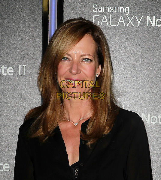 Allison Janney.Samsung Mobile Launch Party For The New Samsung Galaxy Note II Held At Private Residence, Beverly Hills, California, USA, 25th October 2012..portrait headshot smiling black necklace .CAP/ADM/KB.©Kevan Brooks/AdMedia/Capital Pictures.