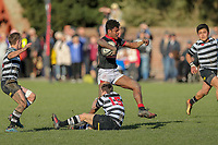Action from the Canterbury UC Championship & UC Cup semi-final match between Christ's College and St Bedes College at Christ's College in Christchurch on Saturday, 18 August 2018. Photo: Martin Hunter / lintottphoto.co.nz