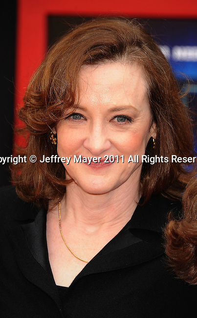 """HOLLYWOOD, CA - MARCH 06: Joan Cusack  arrives at """"Mars Needs Moms 3D"""" Los Angeles Premiere at the El Capitan Theatre on March 6, 2011 in Hollywood, California"""