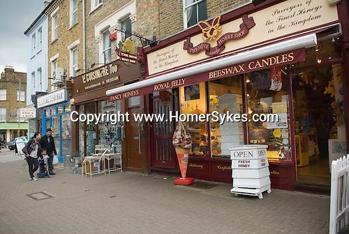 Honey Shop Northcote Road Clapham Wandsworth SW London UK