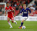 Mark Duffy of Sheffield Utd during the Championship match at the Riverside Stadium, Middlesbrough. Picture date: August 12th 2017. Picture credit should read: Simon Bellis/Sportimage