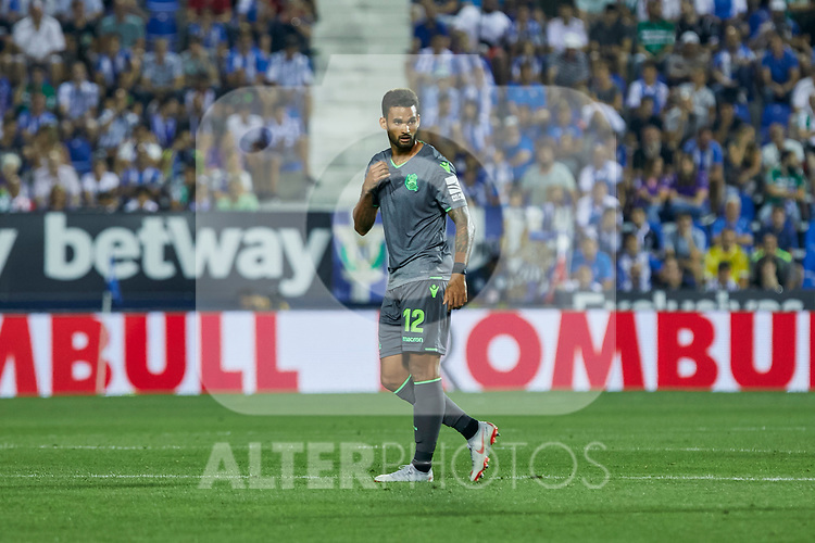 Real Sociedad's Willian Jose Da Silva during La Liga match. August 24, 2018. (ALTERPHOTOS/A. Perez Meca)