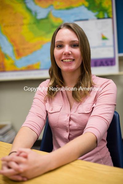 WASHINGTON, CT- 28 October 2015-102815EC09-  Amber Wright, 17 is a senior at Shepaug Valley High School in Washington. Erin Covey Republican-American