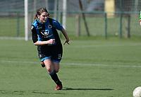 Zulte C - Club Brugge B : Dames Club Brugge B kampioen in 1ste provinciale met  Bo Vranckx<br /> Foto David Catry | Sportpix.be