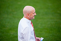 Kansas City, MO - Thursday August 10, 2017: Paul Riley during a regular season National Women's Soccer League (NWSL) match between FC Kansas City and the North Carolina Courage at Children's Mercy Victory Field.