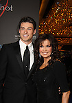 Bold and The Beautiful Adam Gregory and now Marie Osmond at the 38th Annual Daytime Entertainment Emmy Awards 2011 held on June 19, 2011 at the Las Vegas Hilton, Las Vegas, Nevada. (Photo by Sue Coflin/Max Photos)