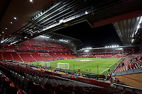 Liverpool v Napoli UEFA Champions League General view of Anfield, prior to the UEFA Champions League match between Liverpool and Napoli, Liverpool. PUBLICATIONxNOTxINxUKxCHN Copyright: xMichaelxSedgwickx FIL-13908-0002<br /> Liverpool 27-11-2019 Anfield <br /> Football Uefa Champions League 2019/2020 <br /> Liverpool Vs Napoli <br /> Photo Imago/Insidefoto <br /> ITALY ONLY
