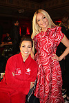 As The World Turns' Lea Salonga & One Life To Live Elisabeth Rohm - American Heart Association's Go Red for Women Red Dress Collection 2018 presented by Macy's on February 8, 2018 at Hammerstein Ballroom, New York City, New York  (Photo by Sue Coflin/Max Photo)