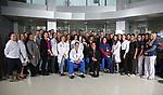 Hackensack University Medical Center Cancer Hospital Doctor Group Photo in Hackensack, New Jersey.