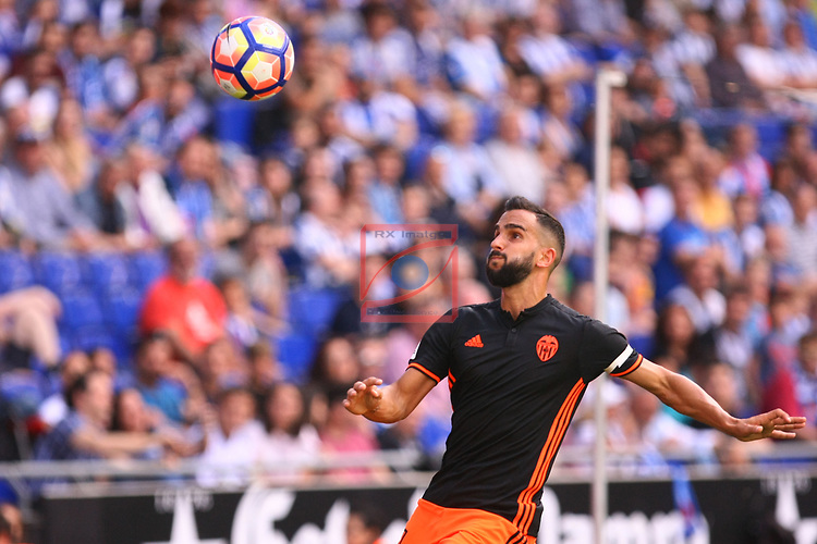 League Santander 2016/2017. Game: 37.<br /> RCD Espanyol vs Valencia CF: 0-1.<br /> Martin Montoya.