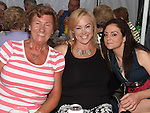 Alice and Lorraine Cunningham and Heather Gordon pictured at the Music Night in Dunleer Market House. Photo:Colin Bell/pressphotos.ie