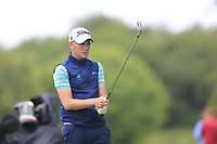 Robert Brazill (Naas) during the first round at the Mullingar Scratch Trophy, the last event in the Bridgestone order of merit Mullingar Golf Club, Mullingar, West Meath, Ireland. 10/08/2019.<br /> Picture Fran Caffrey / Golffile.ie<br /> <br /> All photo usage must carry mandatory copyright credit (© Golffile | Fran Caffrey)