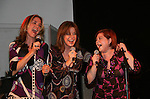 Divas = Kassie DePaiva - Bobbie Eakes - Kathy Brier at the 5th Annual Rock show for charity to benefit the American Red Cross on October 9, 2009 at the American Red Cross Headquarters, New York City, New York. (Photos by Sue Coflin/Max Photos)