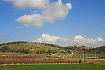 Israel, Sharon, a view from road 652