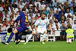 Supercopa de Espa&ntilde;a - Vuelta<br /> R. Madrid vs FC Barcelona: 2-0.<br /> Gerard Pique vs Karim Benzema.